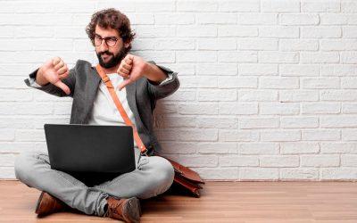 Las 5 razones por las que tu web no genera clientes